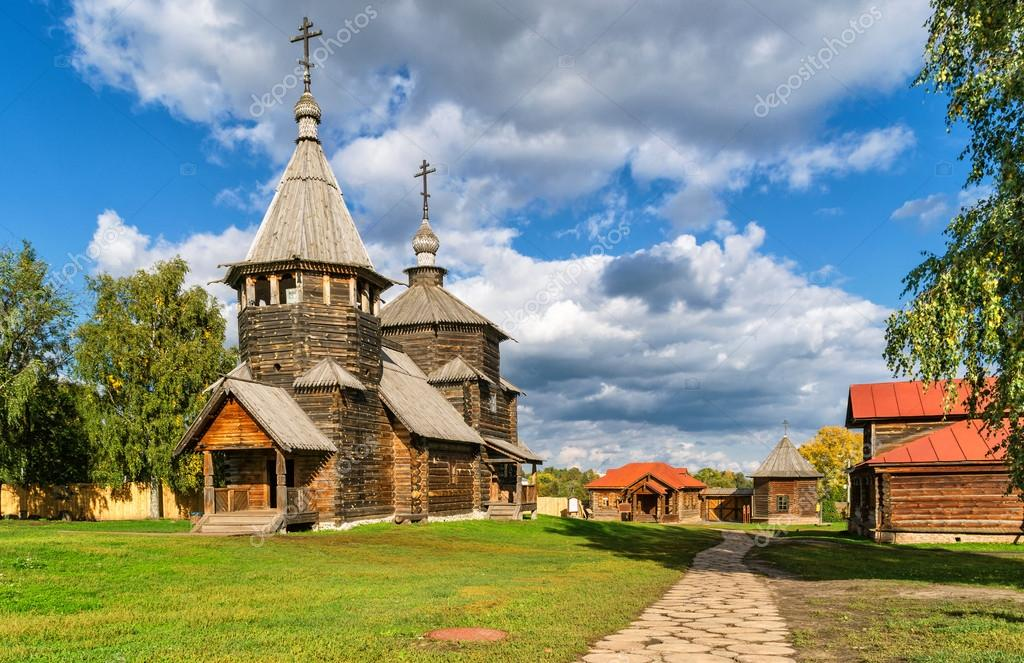 depositphotos 67930817 stock photo the traditional russian wooden church